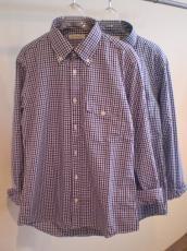 SFC ギンガムチェック ボタンダウン L/Sシャツ