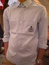 ロイヤルオックス タブカラーL/Sシャツ