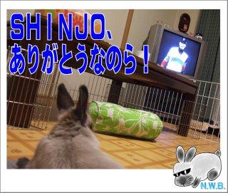 SHINJO、ありがとう
