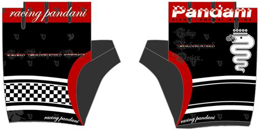 レーシングパンダーニグローブ00BL