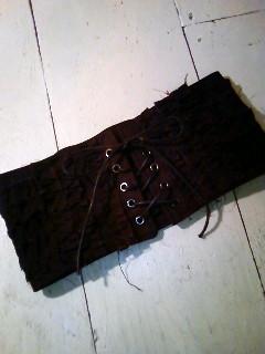コルセット 黒