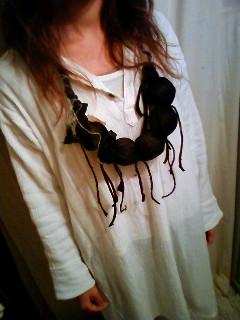 ネックレス 黒