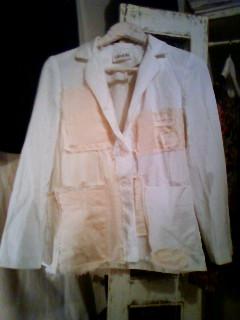 ジャケット 白
