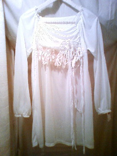 OP 白 装飾