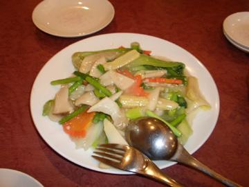 東林 五目野菜炒め