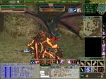 火の門の守護者VS竜騎士国家の守護竜