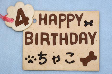 ちゃこ誕生日26