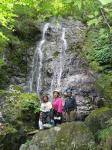 5.美しい25mスダレ状大滝