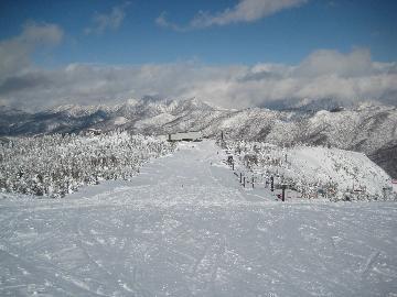 ski in Shiga4
