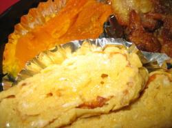 卵焼きとかぼちゃの煮物