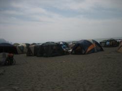 キャンプの季節も終わりに近づき・・・