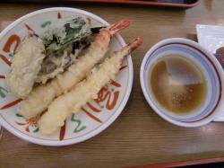 天ぷらもあり