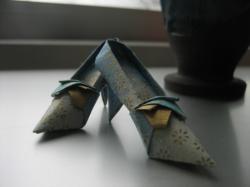 折り紙のハイヒールがかわいい♪