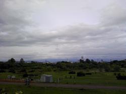 この日も山は見えません(^_;)