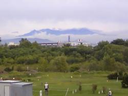 9月1日朝の大雪山