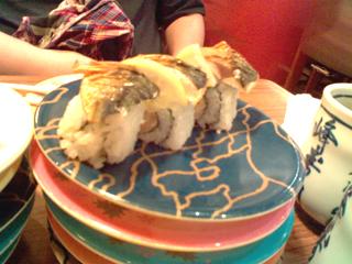 鯖魚寿司~