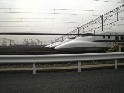 新幹線揃い踏み