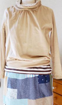 カットソー スカート