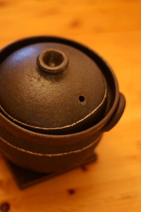 土鍋でご飯 1
