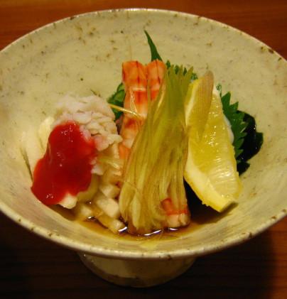 お寿司屋 酢の物