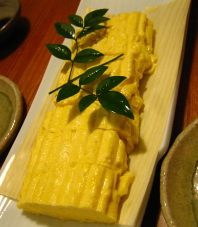 お寿司屋 出汁巻き卵