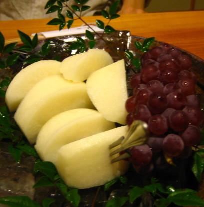 お寿司屋 果物