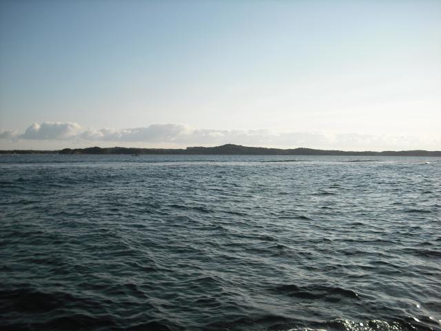 太平洋の海