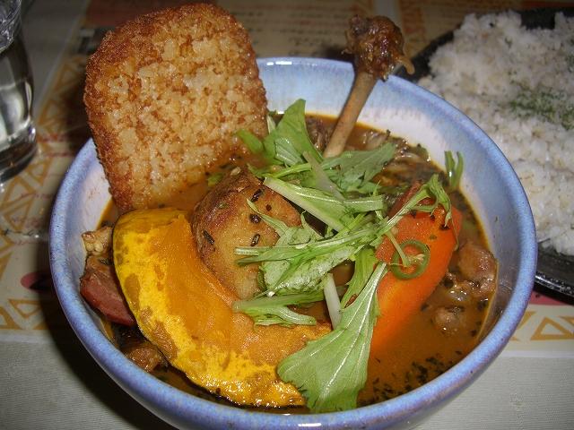 ハーフチキンレッグ野菜+ハッシュドポテト、ベーコン(10)_20080202