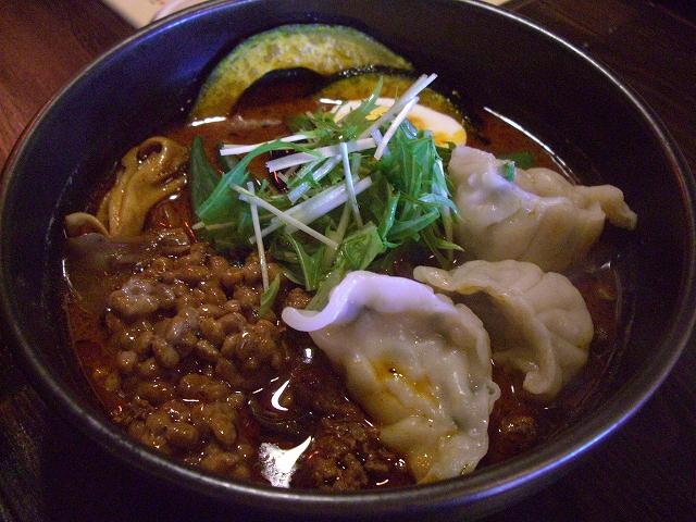挽肉と納豆とオクラ+マイタケ、餃子_エビ(7)_20080309