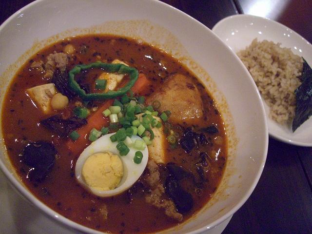 粗挽き肉とひよこ豆のアジアン(30)_20080523