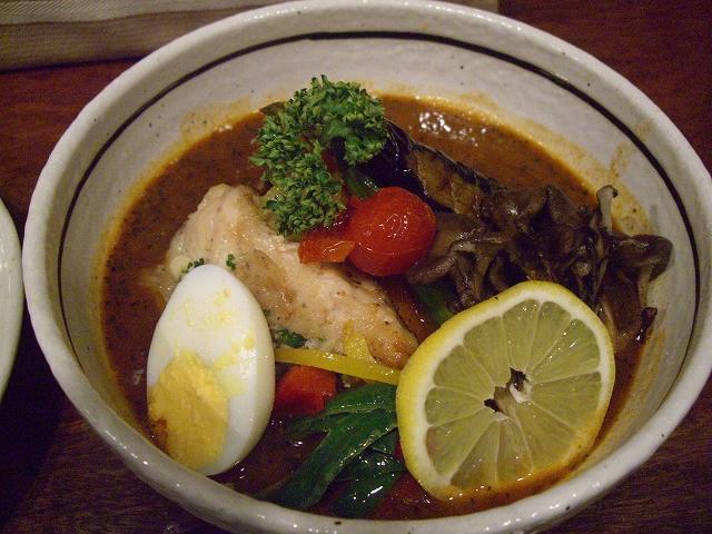 カジキマグロのニンニクバター焼きと旬菜+マイタケ(15)_20080508