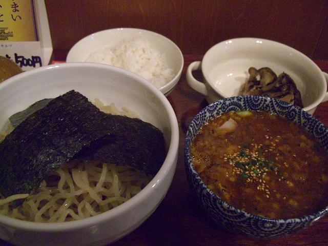 つけ麺+まいたけ(15)_20080620
