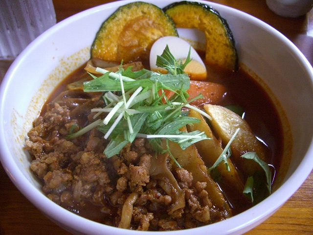 挽肉と納豆とオクラ+マイタケ、北あかり_チキン(8)_20080629