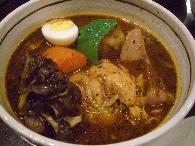 チキン+マイタケ(15)_20080709