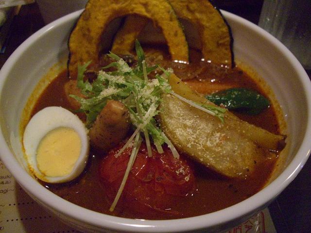 トマトとバジルソーセージ+マイタケ、北あかり(8)_20080720