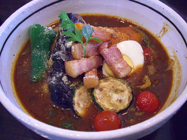 ナスの肉詰めと夏野菜(18)_20080816