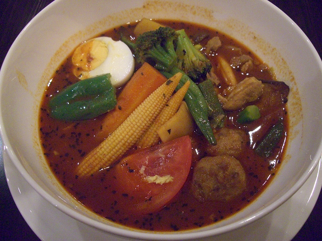 14種の野菜ともち豚+鶏団子(100)_20080821