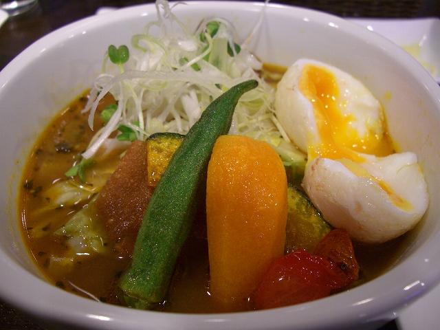 スープカレー+たまご(大辛)_20080921