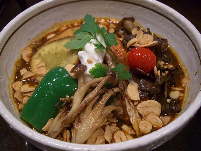 ラム肉と秋の根菜+マイタケ(15)_20080922