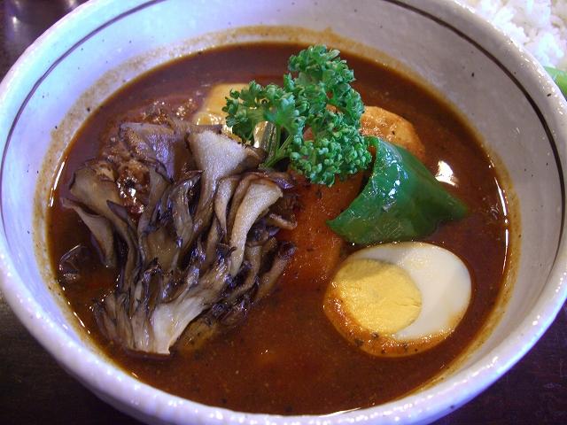 ハンバーグ+マイタケ(15)_20081124