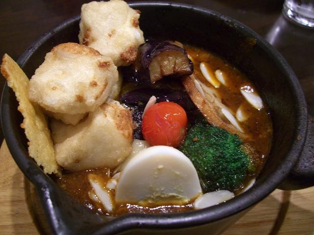 チーズと野菜の焼き+ナス、揚げ出し豆腐(15)_20081126