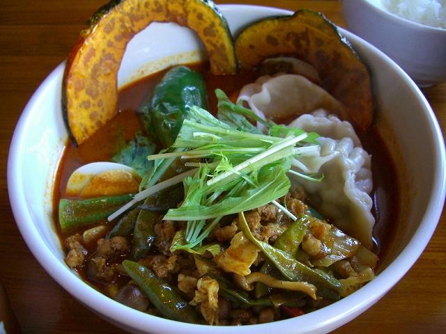 納豆と挽肉+キャベツ、餃子(10)_20081128