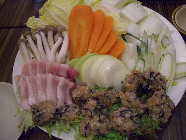 鶏つみれ鍋具_20081220