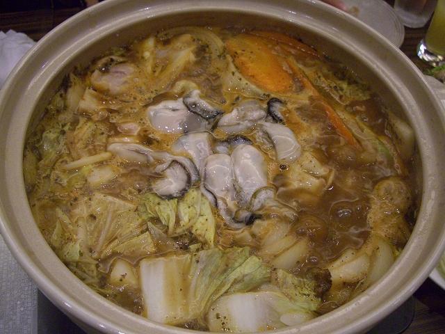 牡蠣鍋_20081220