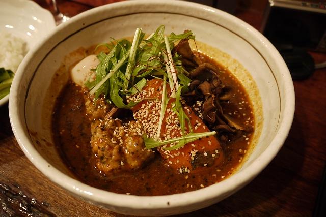 鶏団子と温玉(15)_20090107