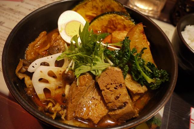 角煮+舞茸、レンコン、北あかり,油揚げ_エビ(6)_20090124