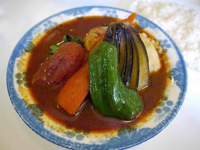 ベーコンエッグ野菜(5)_20090211