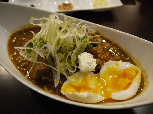 リゾット+揚げ卵(超激辛)_20080313