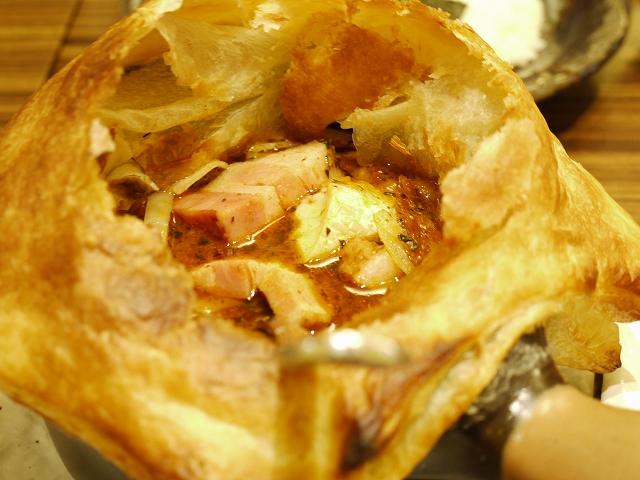 きのこのカマンベールチーズとニョッキ+ベーコン(15)_20090901