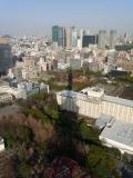 東京タワーの日時計(14時30分ころ)